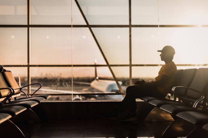 Aeropuerto avion viajero (Marco López Unsplash)