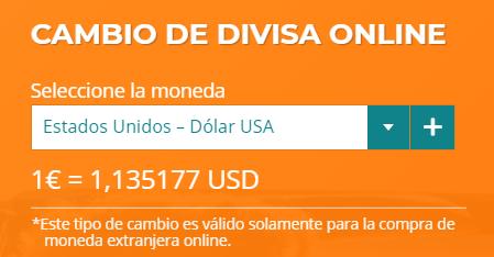 Cambio euro dolar Currency Market 16 08 2020
