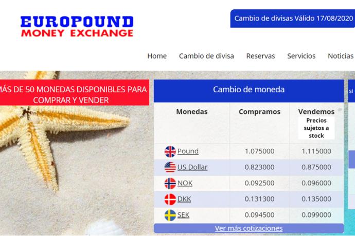 Europound web