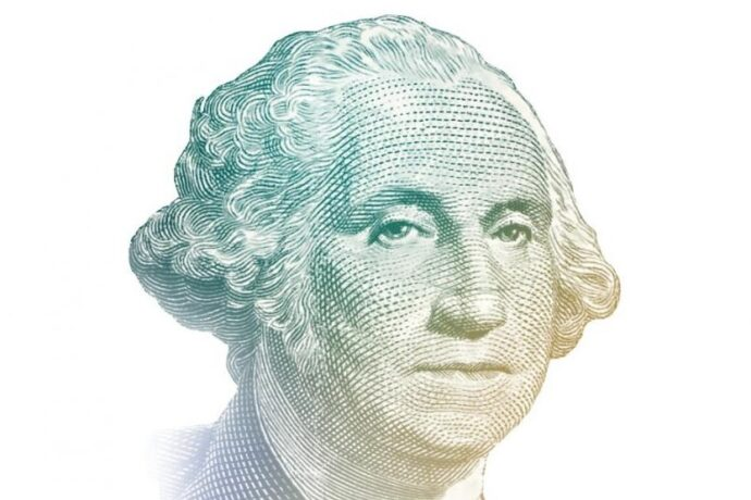 George Washington Billete de un dolar (fte: www.uscurrency.gov)