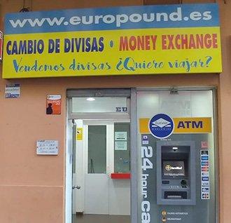 Oficina de cambio Europound