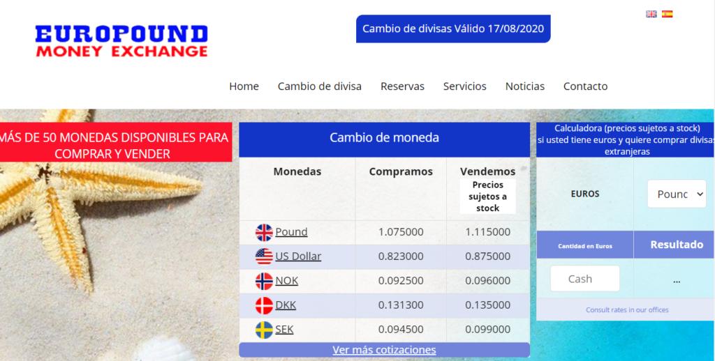 Página web Europund